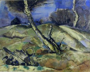 Permanent Collection - Trees and Logs - Will Henry Stevens