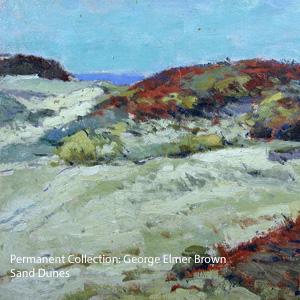 George Elmer Brown - Sand Dunes