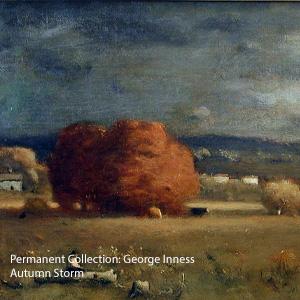 George Inness - Autumn Storm