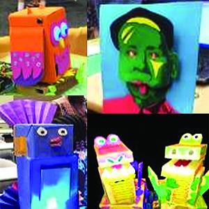 examples of robotic sculptures